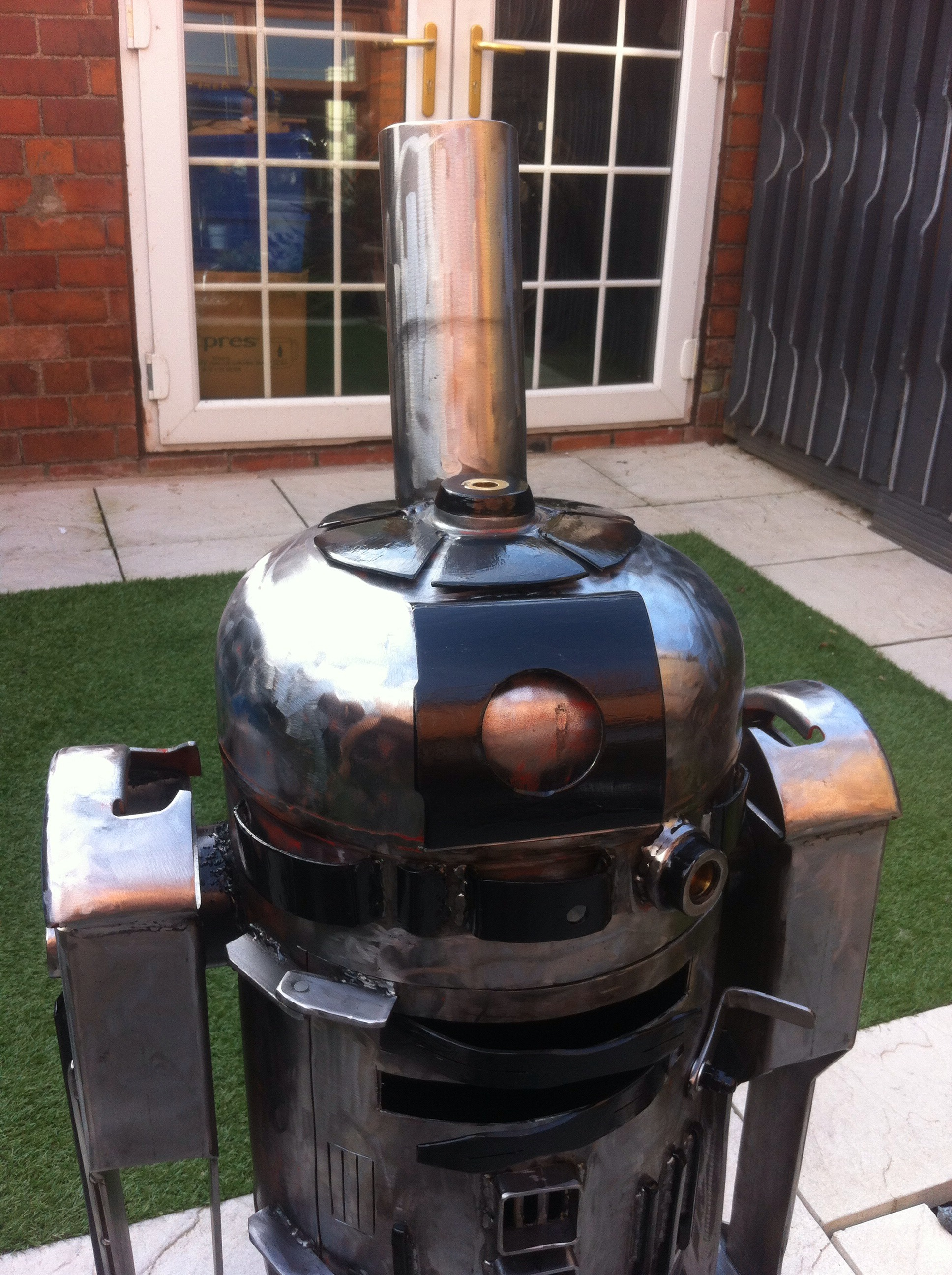 Picture of R2D2 Style Wood / Log Burner