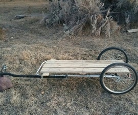 Flatbed Bicycle Trailer