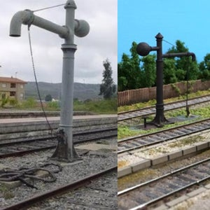 Water Crane for 1:87 Scale Train