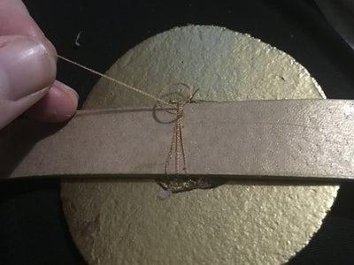 Step 7: Sew Around Belt and Glue