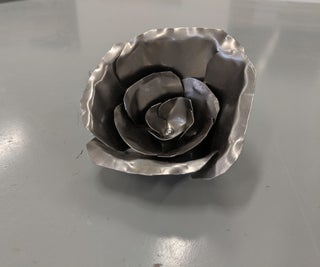 Easy Sheet Metal Flower