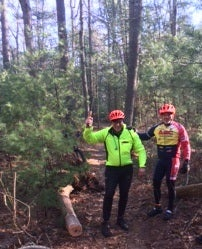 Mountain Bike Folding Saw Holder