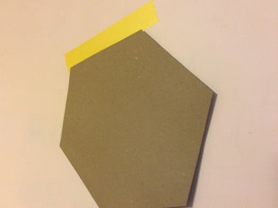 Tape the First Hexagons