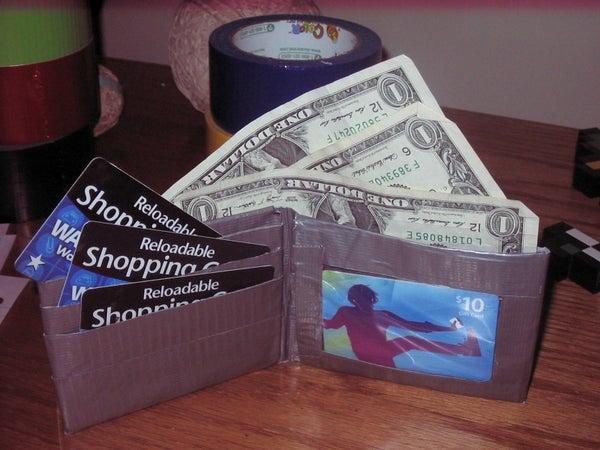 NES Duct Tape Wallet!