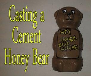 Casting a Cement Honey Bear