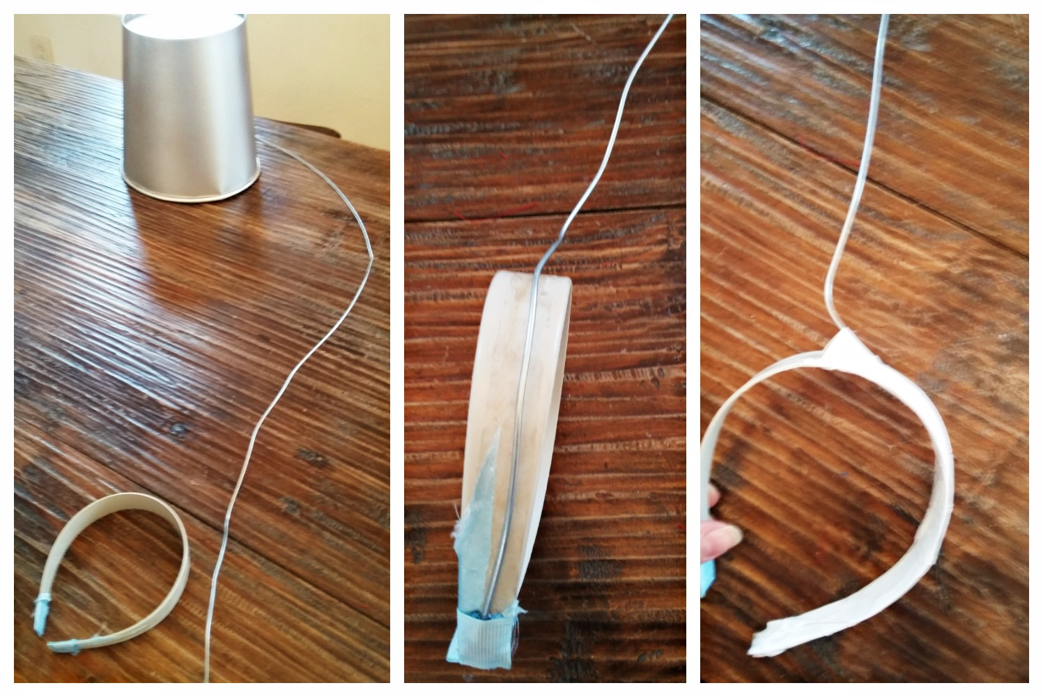Picture of Attach Wire to Headband