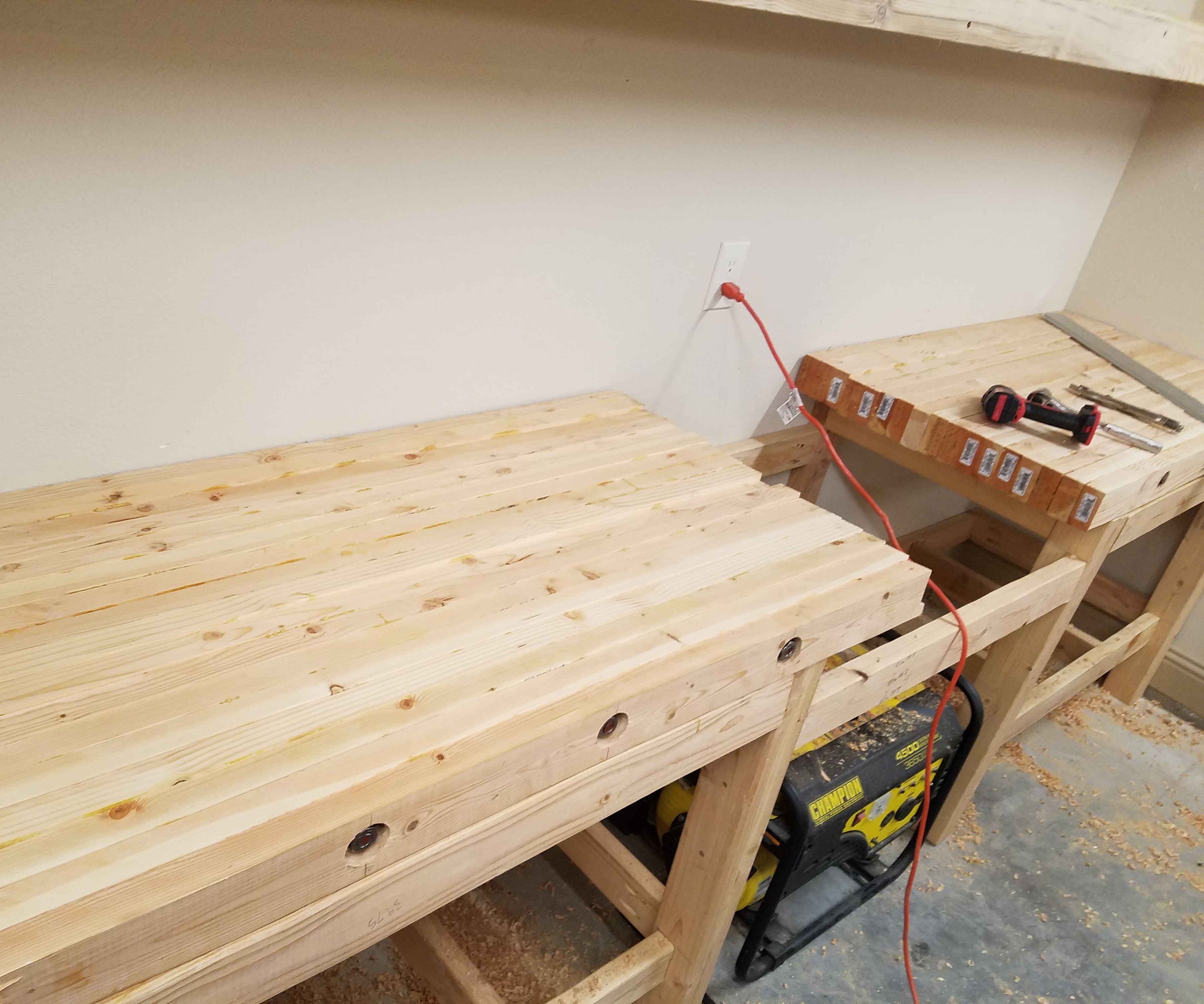 Super How To Create A Laminated Workbench Top 6 Steps With Pictures Evergreenethics Interior Chair Design Evergreenethicsorg