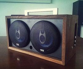 Homemade Speaker Electronics