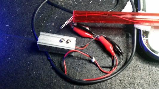 Testing the Laser Module-