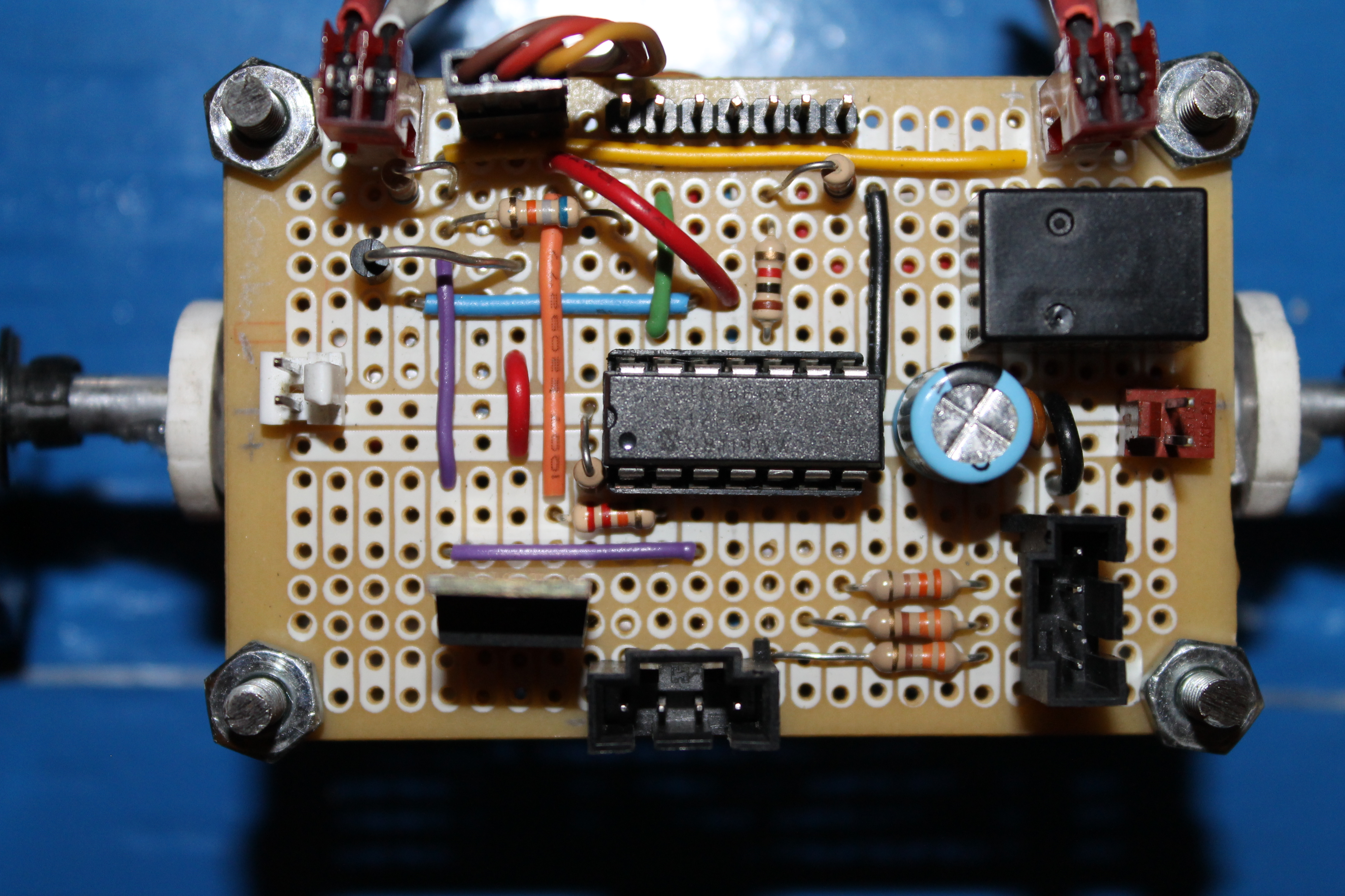 Picture of Building the Circuit Board