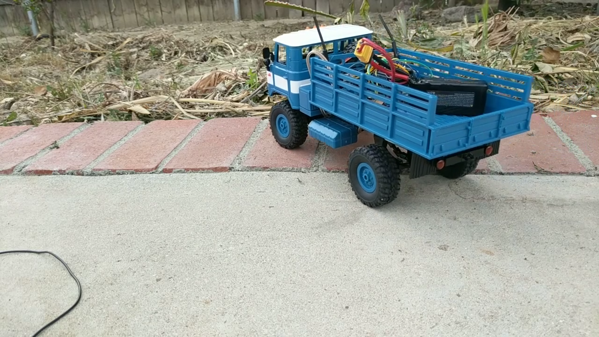 Picture of RC Truck With Electromagnetic Accelerator Turret