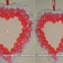 Heart Shaped Wreath for Valentine's Day