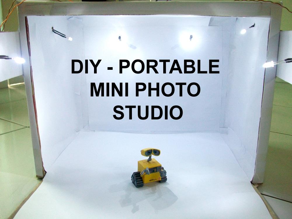 Picture of DIY - Portable Mini Photo Studio