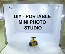 DIY - Portable Mini Photo Studio