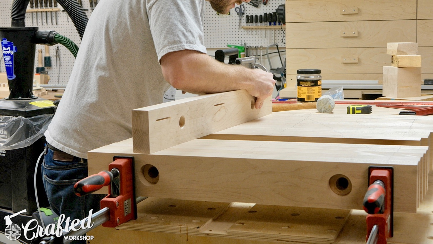 Picture of Glue Up the Table Top