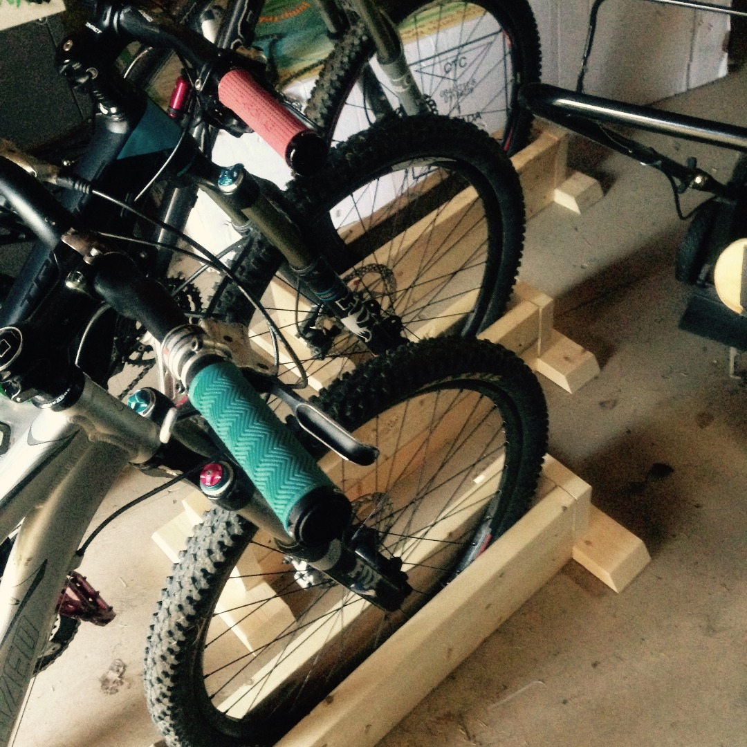 Picture of Using Your Bike Rack!