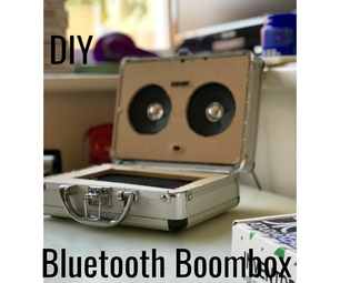 Bluetooth Boombox Charging Dock (Recycled Parts!!!)
