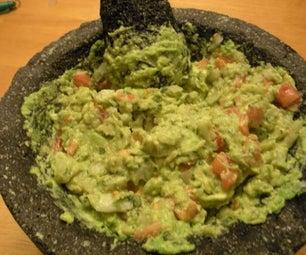 The Perfect Fresh Guacamole