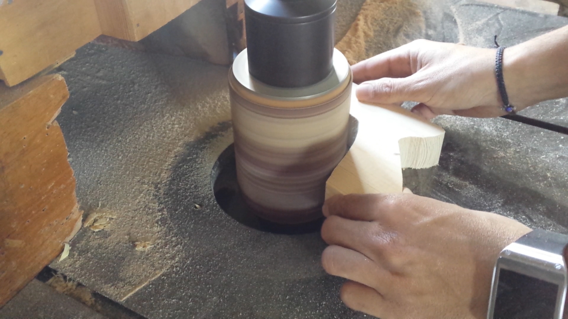 Picture of Making the Grip and Foregrip