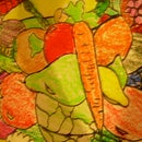 fruit and vegetable art