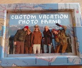 Custom Vacation Photo Frame