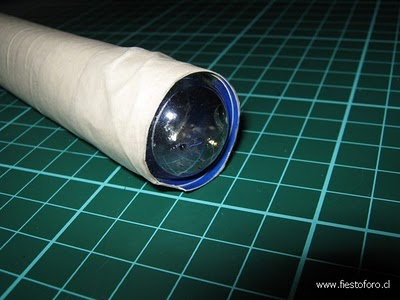 Picture of How to Make a Teleidoscope (open-view and Lense Kaleidoscope)