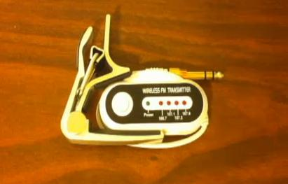 Picture of Wireless Guitar Audio Transmitter / Tool Kit