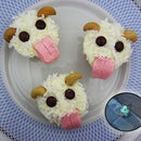 League of Legends Poro Cupcakes