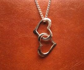 Linked Hearts Pendant