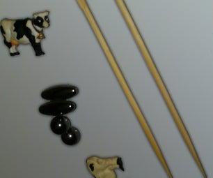 Useable Chopsticks Fridge Magnets