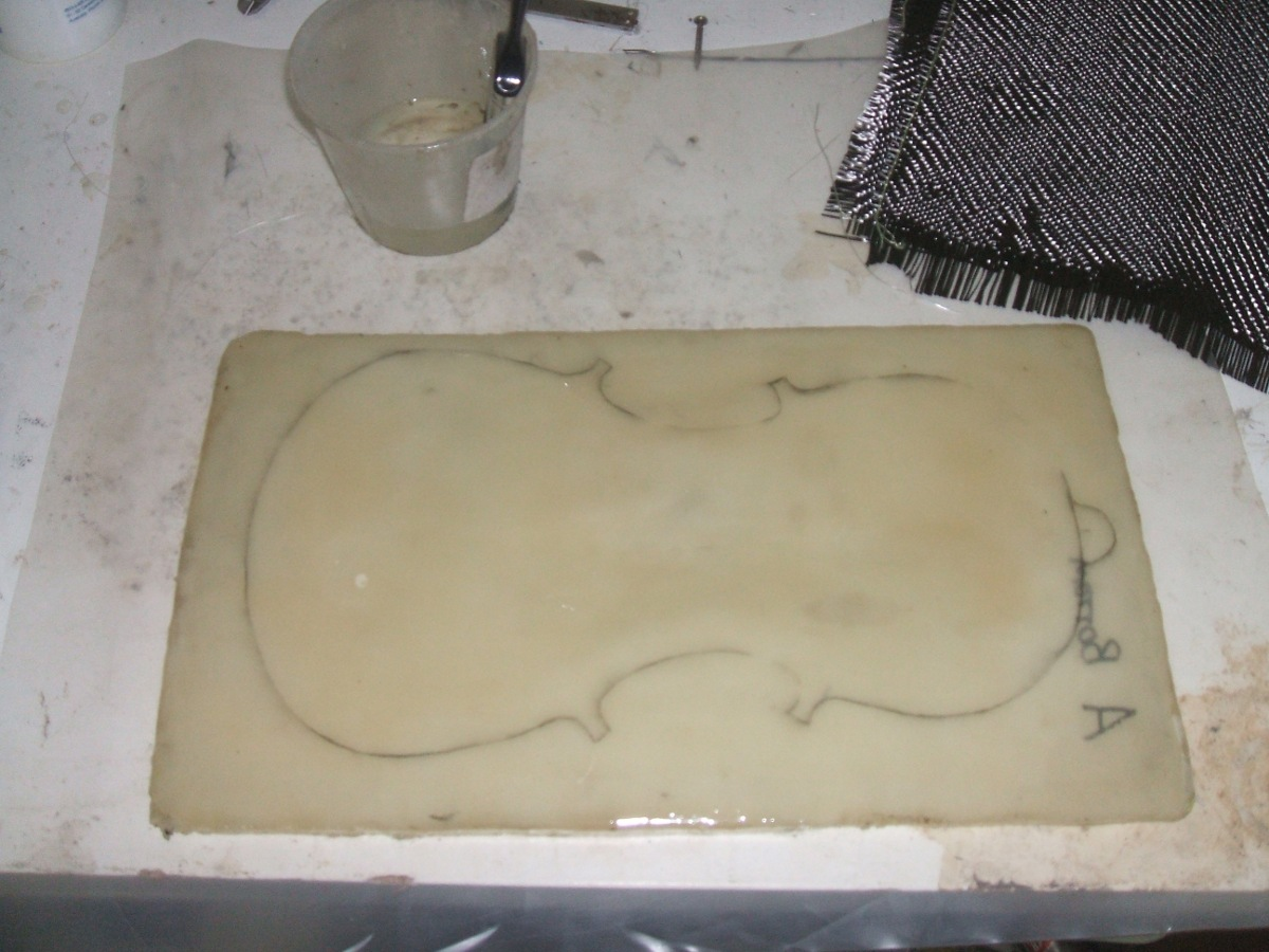 Picture of How to Make Carbon Fibre 1 ( Wet Layup )