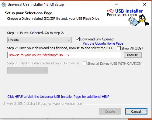 Picture of Extracting ISO to FlashDrive