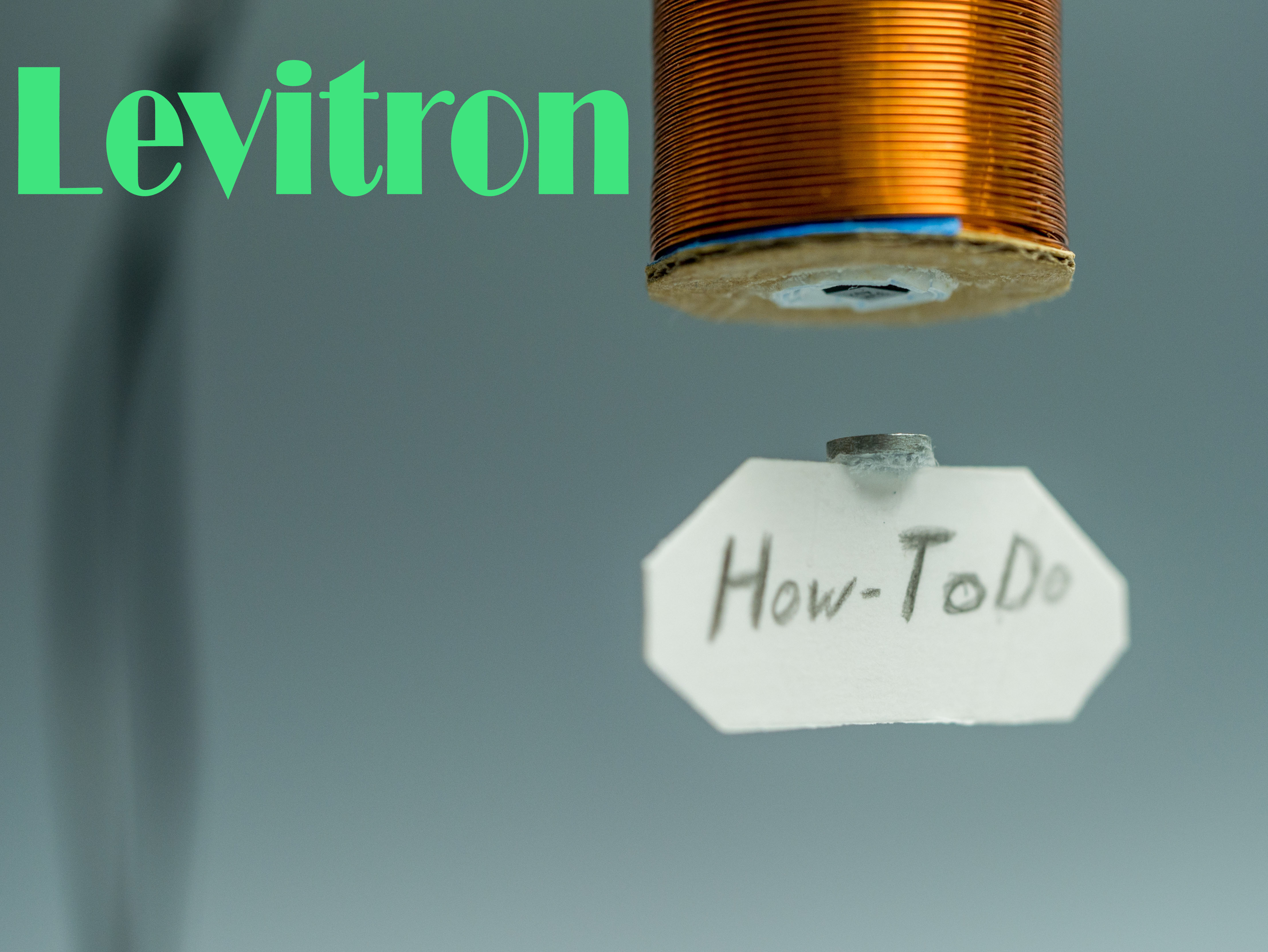 Picture of Electromagnetic Levitation Device