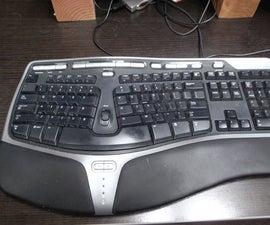 Fix a keyboard key