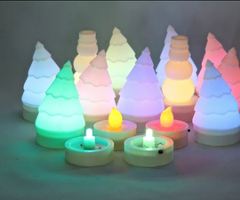 Tea Light Christmas Trees