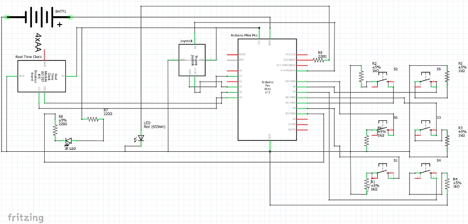 Picture of Wire the Arduino