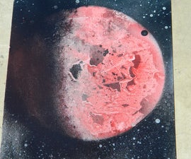How to make spray paint art