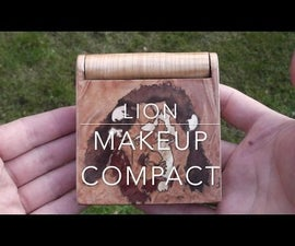 Lion Makeup Compact