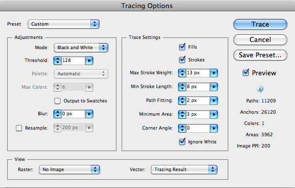 Picture of Tracing Options 1: Live Trace