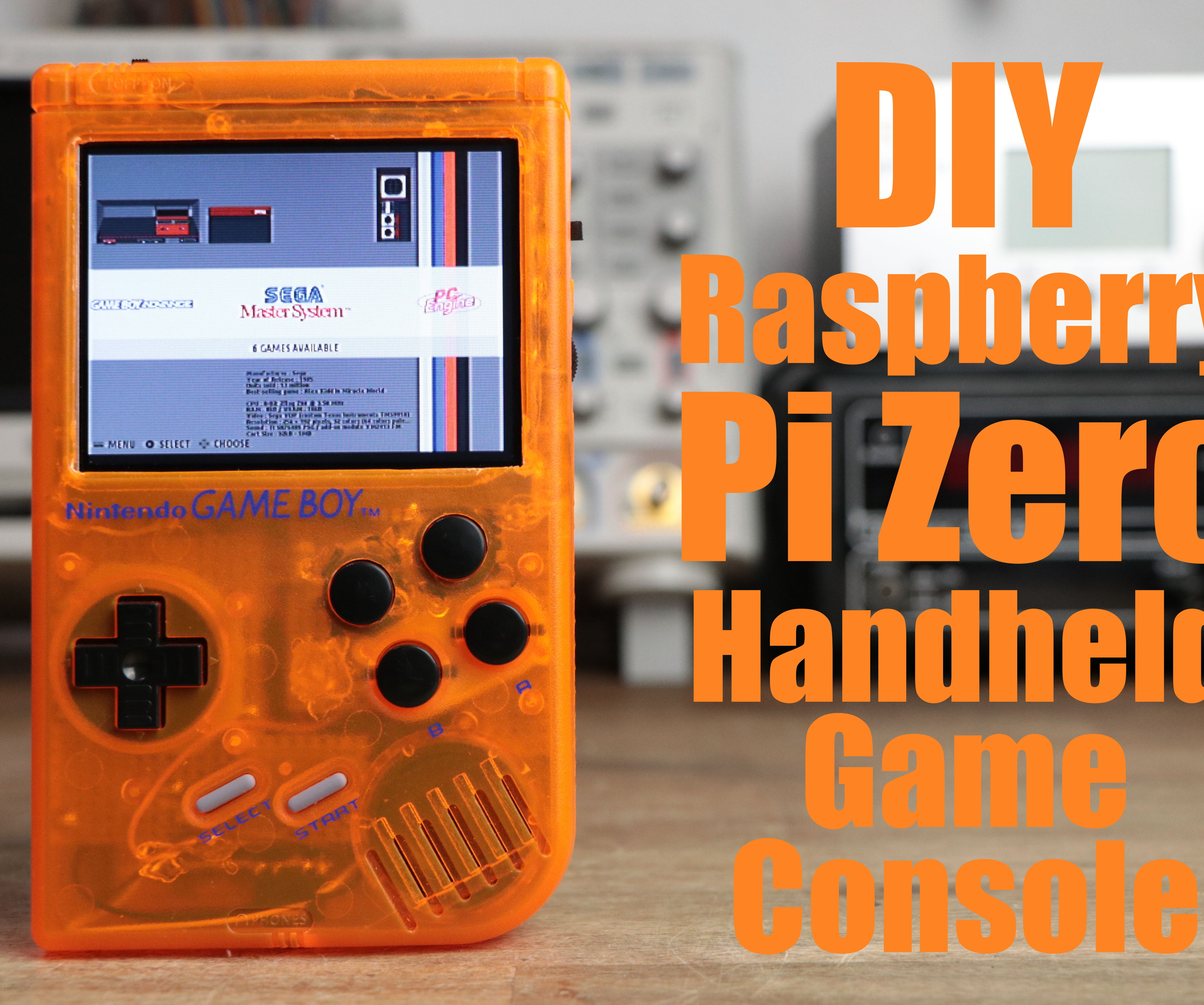 DIY Raspberry Pi Zero Handheld Game Console: 6 Steps (with Pictures)