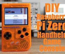 DIY Raspberry Pi Zero Handheld Game Console