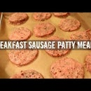 Convenient Breakfast Sausage Patties Meal Prep