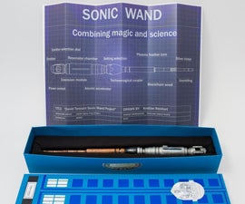 Sonic Screwdriver Wand: Doctor Who meets Harry Potter