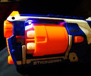 Nerf ELITE GLOW MOD: STRONGARM