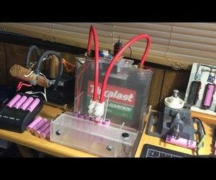 Easy DIY 12V 220CCA 340CA Car Battery 18650 Tab Spot Welder (#4th Build)