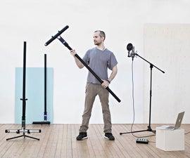 Spatial Synthesizer Kravox! Wireless, Motion- & Touch-Sensing