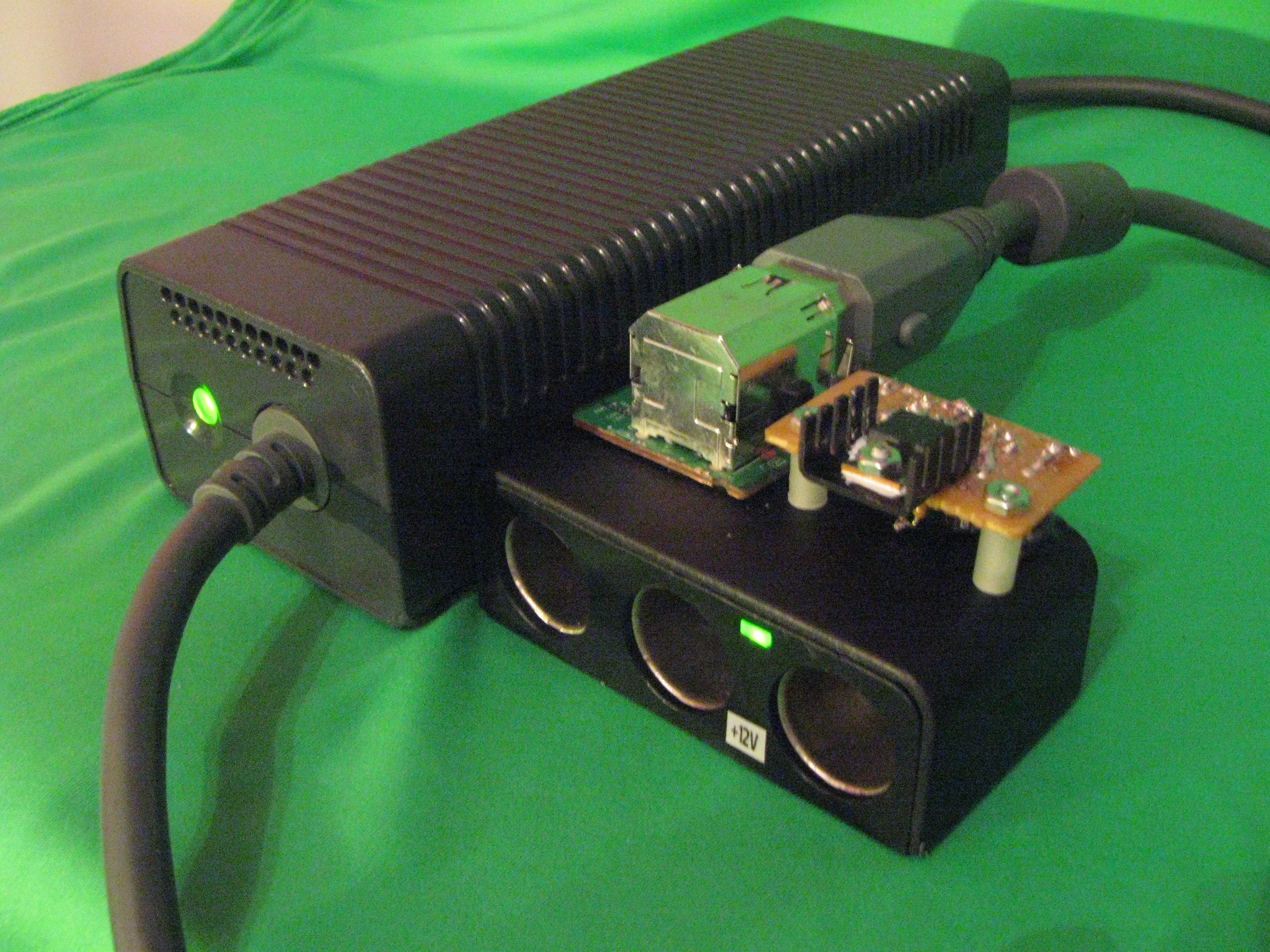 xbox 360 power supply to 12v accessory adapter : 18 steps - instructables  instructables