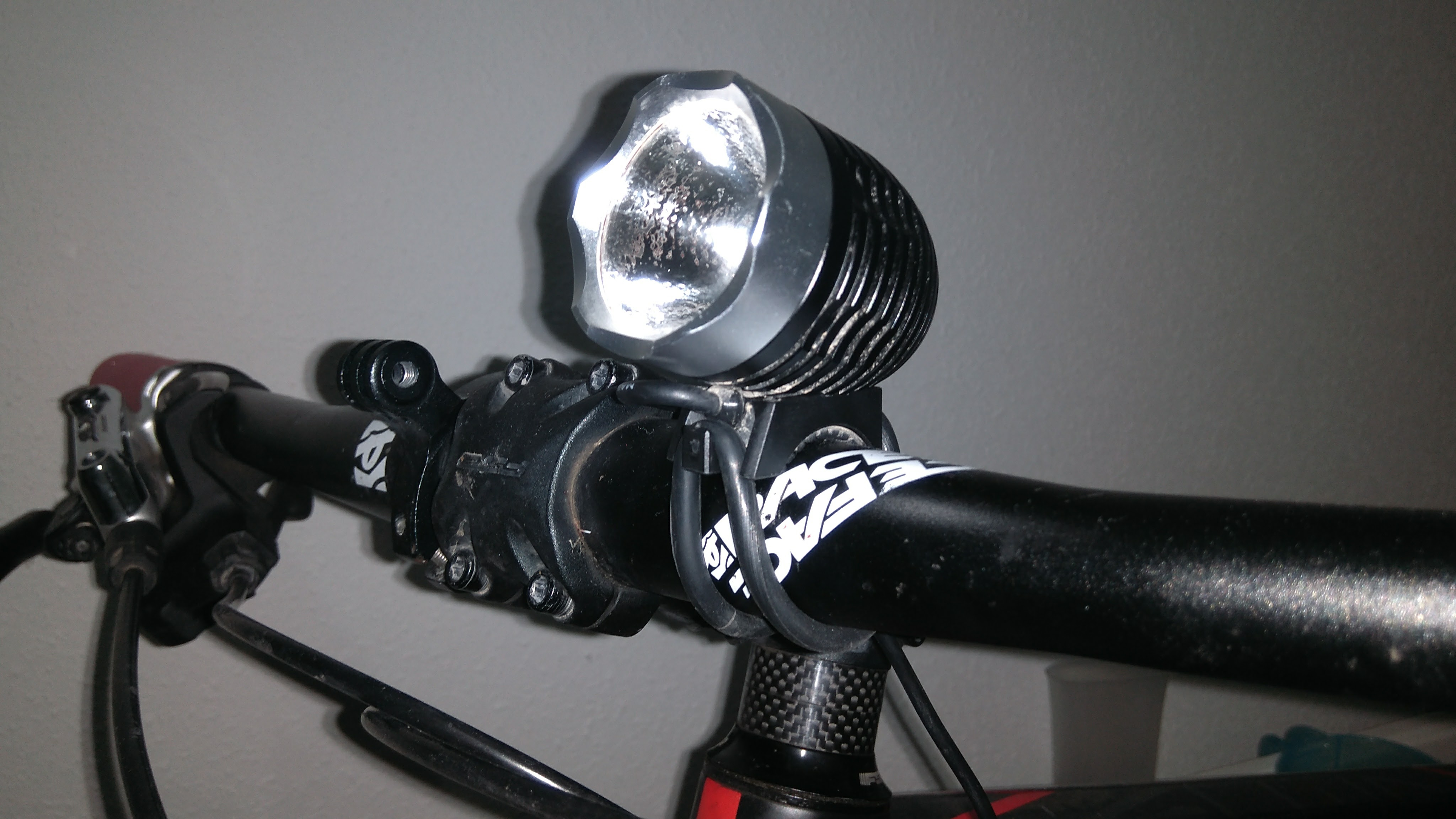 Picture of Bike Lamp With GoPro Mounts
