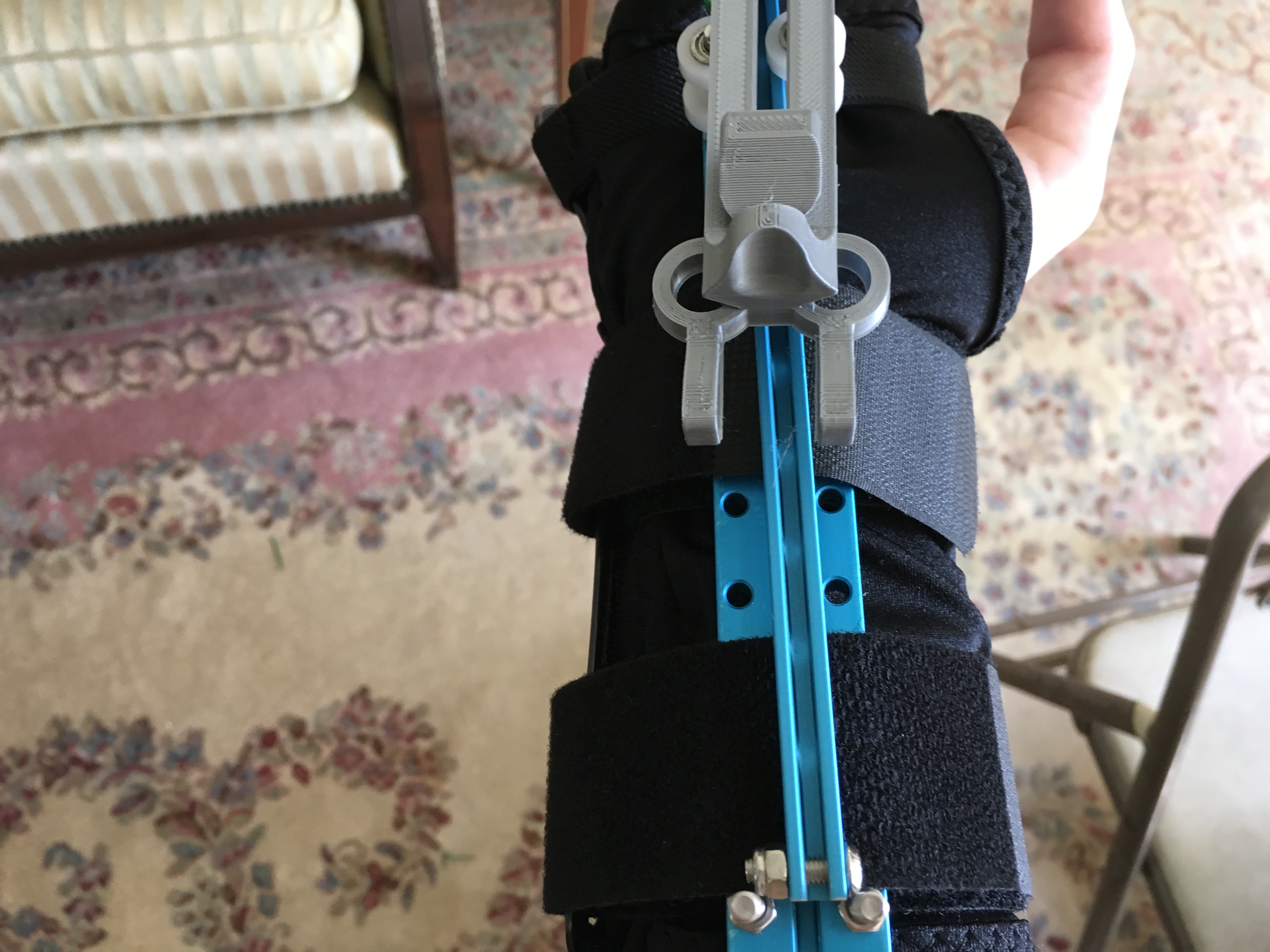 Picture of Now for the Wristguard...