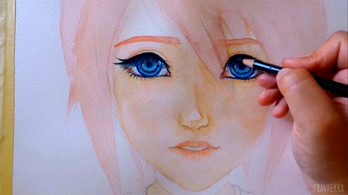 Picture of Hair Base Color + Eyes + Eyebrows